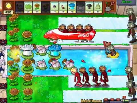 Hoa quả nổi giận   Đối đầu Zombies trượt tuyết cực độc và dị nhất trong game