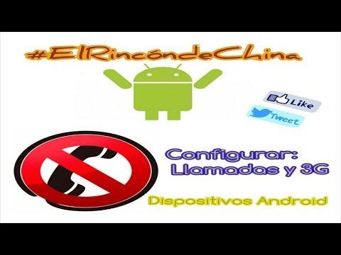 Red móvil no disponible. configurar Llamadas y 3G en Android (de China). IMEI Y APN Configuración