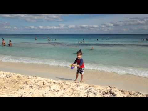 Tima at the beach