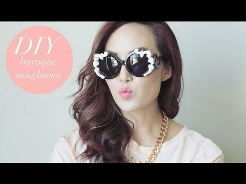 DIY Baroque Sunglasses