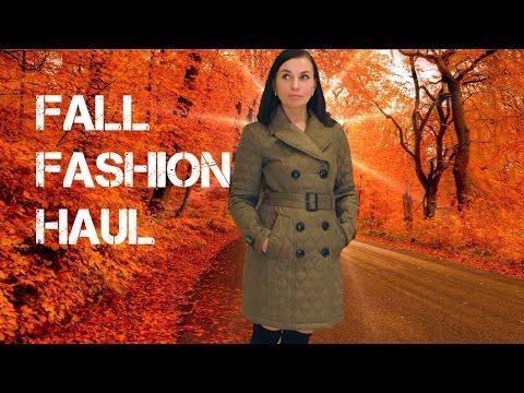 Покупки Одежды с Примеркой на Осень-Зиму 2016-2017 | Burberry, Zara, Ralph Lauren