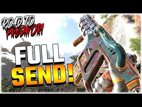 Road to APEX PREDATOR #8 - FULL SEND!! (Apex Legends PS4)