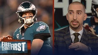 Cris and Nick react to the Eagles' Week 13 win against the Redskins | NFL | FIRST THINGS FIRST