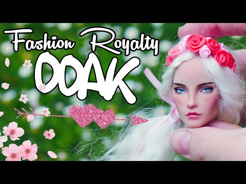Fashion Royalty Custom Elise (Elyse) Integrity Toys repaint OOAK
