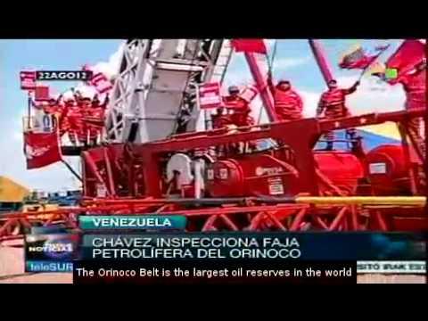 Chavez launches plan to implement Orinoco Development Hub