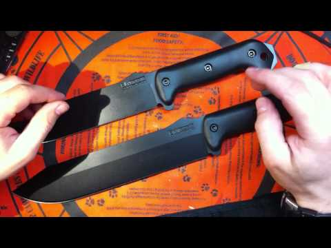 Kabar BK-7 knife review