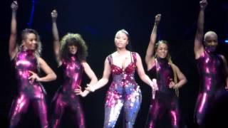 Pink Video - Nicki Minaj - Super Bass - The Pink Print Tour - Stockholm 16/3-2015