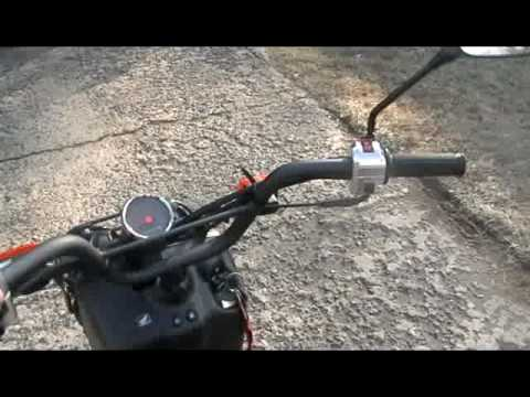2009 Honda Ruckus Scooter overview