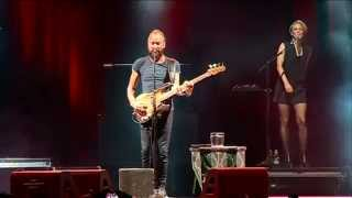 STING English Man in New York live @ Pistoia Blues 2015