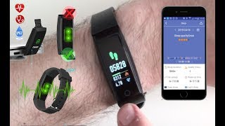 Full Review:  HETP Fitness Tracker, Heart Rate, Fitness Wristband from Amazon