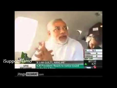 Mindblowing !! How Narendra Modi trapped a Reporter in his own Game of Argument