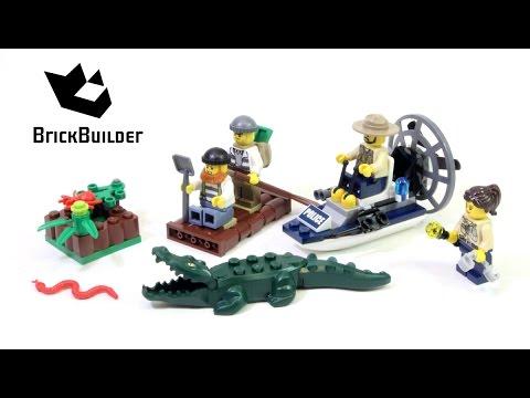 Lego City 60066 Swamp Police Starter Set - Lego Speed Build