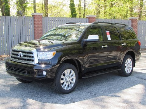 2015 Toyota Sequoia Platinum 4WD Start Up, Exhaust, and In Depth Review