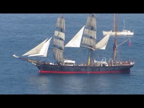 Sydney Heritage Fleet's Tall Ship James Craig 2apr16