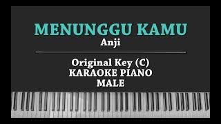 Menunggu Kamu (MALE KARAOKE PIANO COVER) Anji