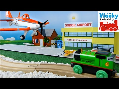 Pohádka o mašince Percy a letadle Dusty