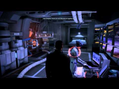 Mass Effect 3: Liara angry about Shepard romancing someone else (all romances)