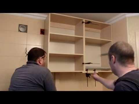 Установка навесных шкафов своими руками