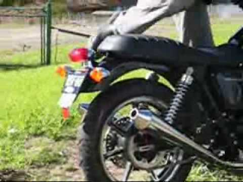 TRIUMPH BONNEVILLE SE 2009 Video
