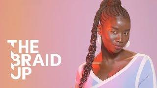 Braided High Pony | The Braid Up | Cosmopolitan