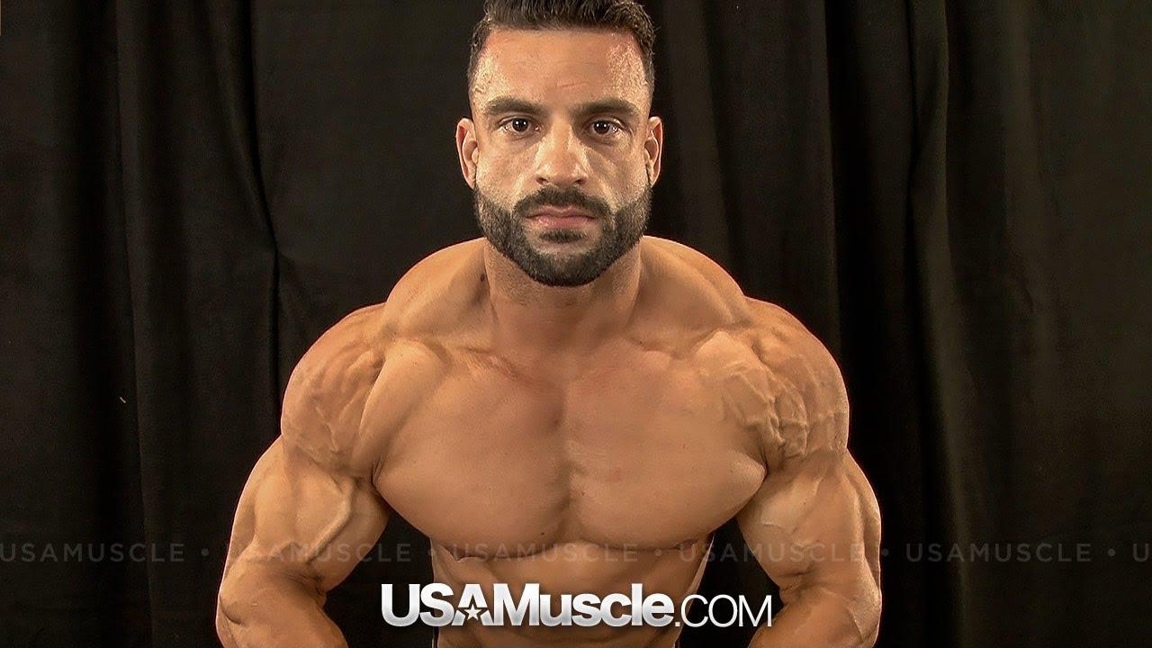 2013 NPC Nationals Men's Bodybuilding Backstage Posing