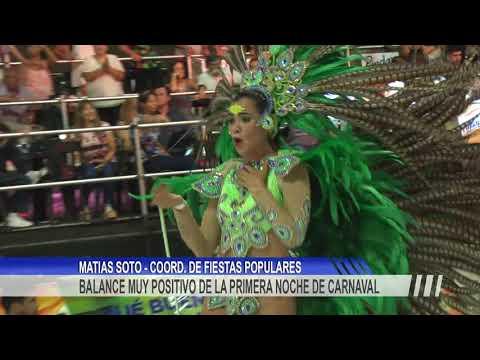 Vibrante inicio del Carnaval de Concordia 2020 con un corsódromo a pleno