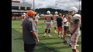 Why Phillip Fulmer got banned from UT Vols football practice