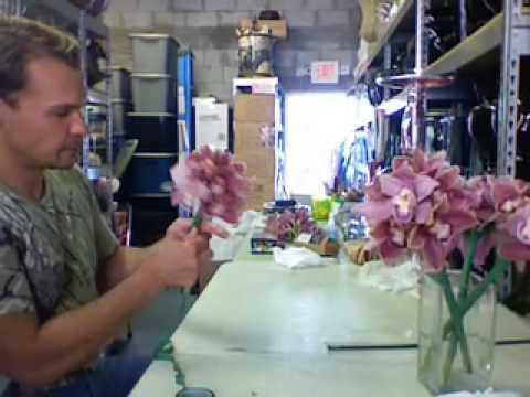 My orchid arrangement Wedding Party Bouquets Wedding Party Bouquets