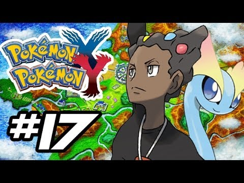 Pokemon X and Y Gameplay Walkthrough - Part 17 - GRANT GYM LEADER!! (Pokemon Gameplay 3DS HD)