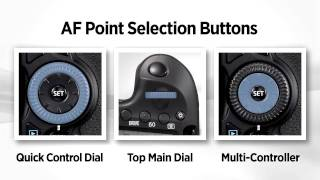 Canon EOS 60D Tutorial - Selecting Af Points 3/14