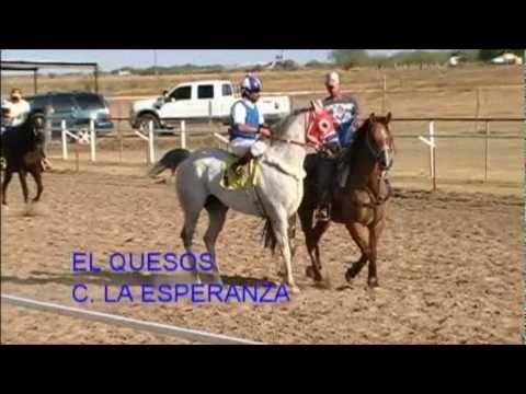 Carreras de Caballos El Trovador vs El Quesos 350yds