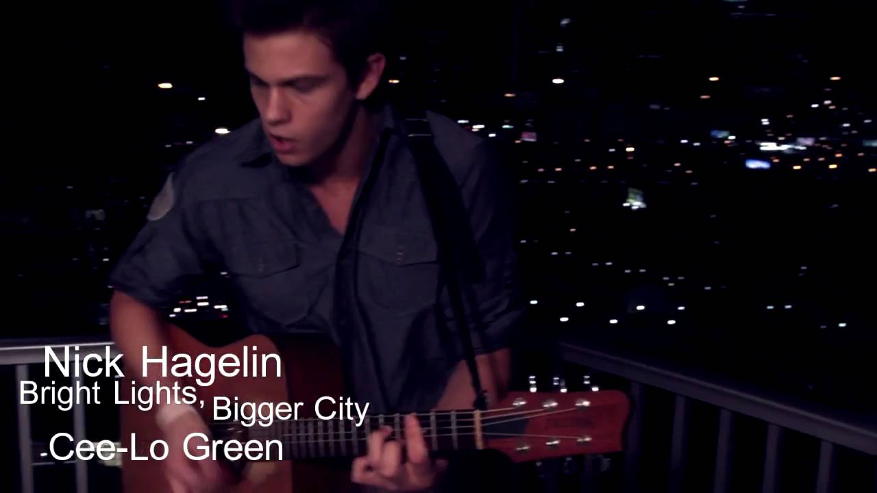 Cee Lo Green Bright Lights Bigger City Acoustic Cover