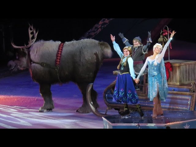 FROZEN Disney on Ice Full Show Highlights w/ Commentary, Review, Anna, Elsa, Olaf, Kristoff, Hans