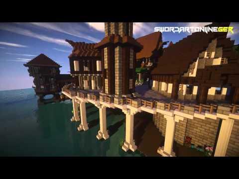 Sword Art Online Trailer #01 [Minecraft-Server/German//HD]