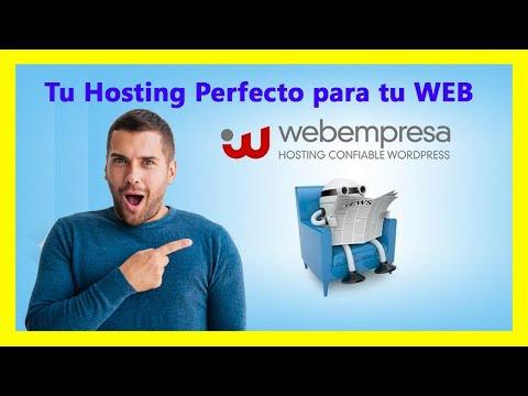 Webempresa el mejor hosting para tu negocio Online