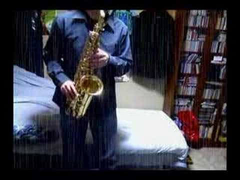 太陽がまた輝くとき From yu Yu Hakusho Ed4 On Alto Sax video