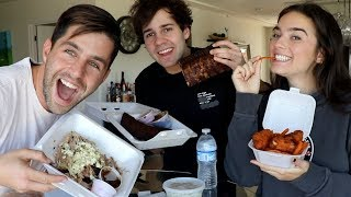BBQ MUKBANG ft DAVID AND NATALIE!
