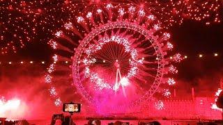 London New Year Eve Fireworks 2018
