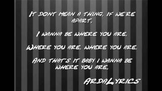Jay Sean - Where You Are [Lyrics]
