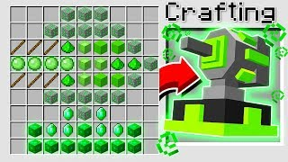 HOW TO CRAFT A SLIME CANNON GUN IN MINECRAFT!