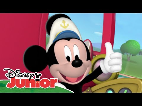 Mickey Mouse Clubhouse | 'Aye Aye Captain Mickey' | Disney Junior UK