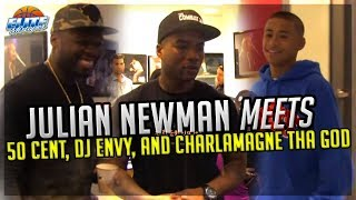 Julian Newman Meets 50 Cent, DJ Envy & Charlamagne Tha God