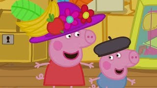 Peppa Pig Full Episodes | Granny and Granpa's Attic | Cartoons for Children