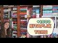Kitaplık Turu | 2018 (+1000 KİTAP!)