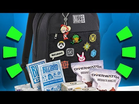 Overwatch - Blizzcon 2017 Goodies