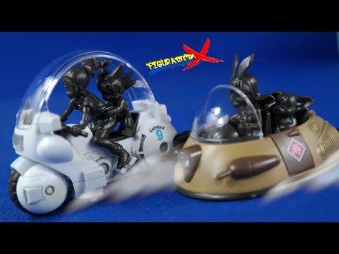 Review & Armado Dragon Ball Mecha Collection Vol 1 & 2 Vehiculos Model Kit Bandai Revision Español
