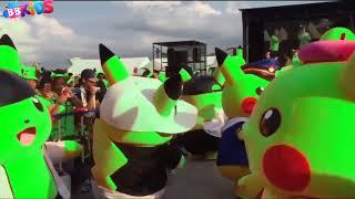Pokemon Pikachu Dance Song - Nhạc thiếu nhi vui nhộn - Kênh thiếu nhi 77K