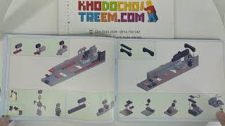 Hướng dẫn lắp ráp Gao Bo Le GBL KY98103 Lego Creator MOC Yue Jin Train giá sốc rẻ nhất