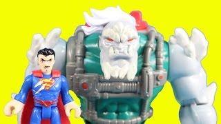 Imaginext Doomsday Tries To Destroy Superman In An Epic Battle Just4fun290