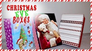 DIY Christmas EVE Boxes - Inexpensive Gift * Men * Women * Toddler Ideas